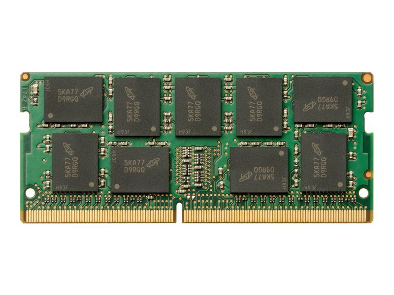 mémoire HP - DDR4 - 8 Go - SO DIMM 260 broches - 2666 MHz / PC4-21300 - 1.2 V - mémoire sans tampon - ECC - pour Worksta
